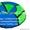 Тюбинг санки надувные ватрушка стьюб стюб Оксфорд  90 см #1629477