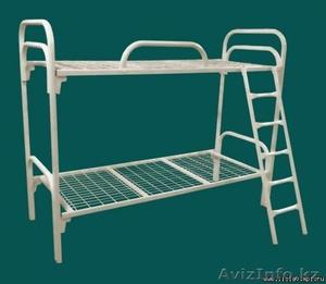 Кровати металлические трёхъярусные, кровати для общежитий, кровати для гостиниц. - Изображение #2, Объявление #1423123