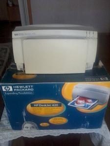 продам принтер  Hewlett Packard Deskjet 420   - Изображение #1, Объявление #1648202