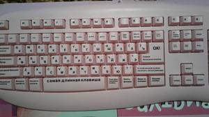 """продам новую компьютерную """"клавиатуру для блондинок """" с приколом - Изображение #1, Объявление #1680537"""