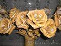 Розы из бересты.